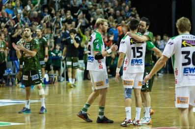 DKB Bundesliga Handball 23.12.2014 Füchse Berlin - Frisch Auf! Göppingen ,J.Radtke,www.pixxxel (89)