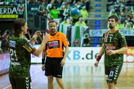 DKB Bundesliga Handball 23.12.2014 Füchse Berlin - Frisch Auf! Göppingen ,J.Radtke,www.pixxxel (9)