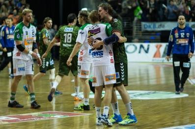 DKB Bundesliga Handball 23.12.2014 Füchse Berlin - Frisch Auf! Göppingen ,J.Radtke,www.pixxxel (90)