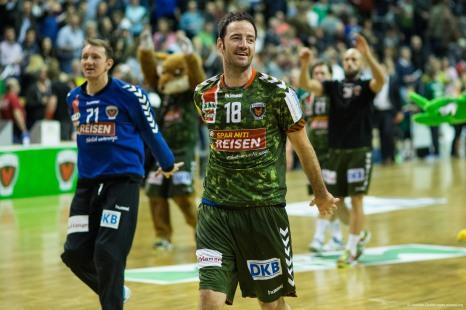 DKB Bundesliga Handball 23.12.2014 Füchse Berlin - Frisch Auf! Göppingen ,J.Radtke,www.pixxxel (95)