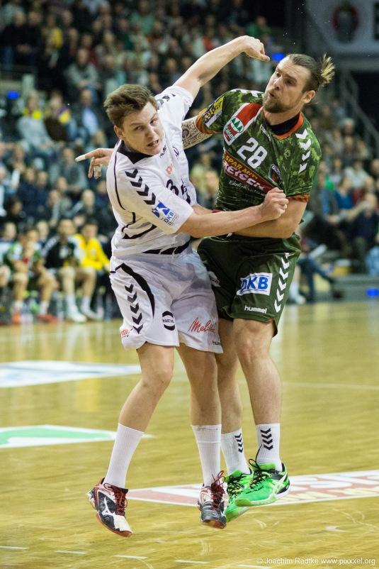DKB Bundesliga Handball 11.02.2015 Füchse Berlin – GWD Minden (12)
